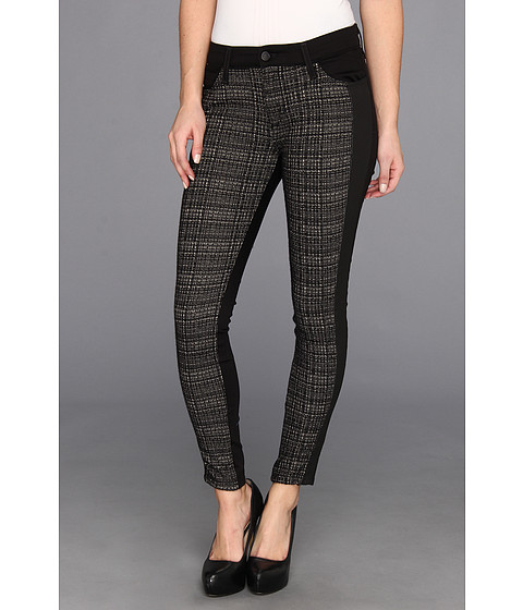 Blugi Joes Jeans - Contrast Tux Ankle in Black/Heather Grey - Black/Heather Grey