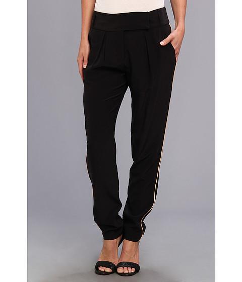 Pantaloni Rebecca Taylor - Tab Front Pant - Black
