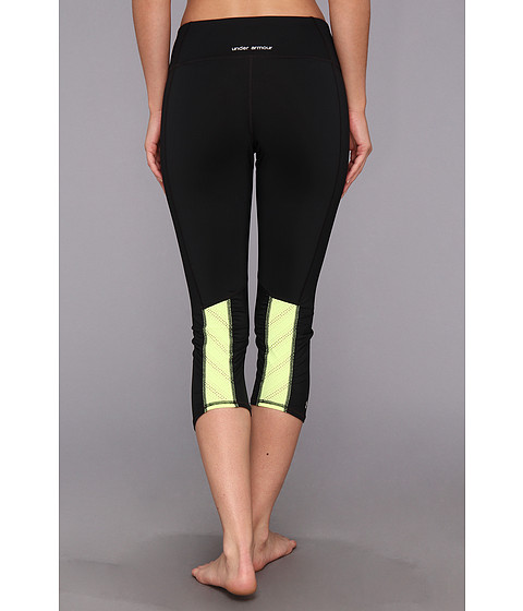 "Pantaloni Under Armour - ArmourVentâ""¢ Capri - Black/X-Ray/Black"