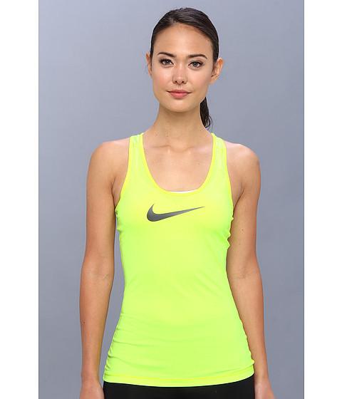 Bluze Nike - Pro Tank - Volt/Dark Base Grey