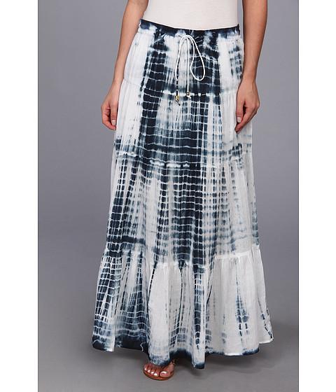 Fuste MICHAEL Michael Kors - Tiered Maxi Skirt - Navy
