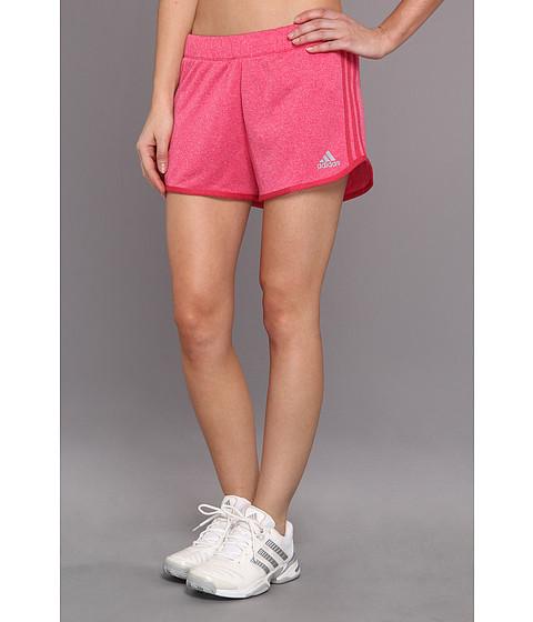 Pantaloni adidas - Boyfriend Terry Short - Vivid Berry/Bahia Pink