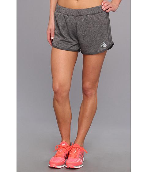 Pantaloni adidas - Boyfriend Terry Short - Dark Grey Heather/Black