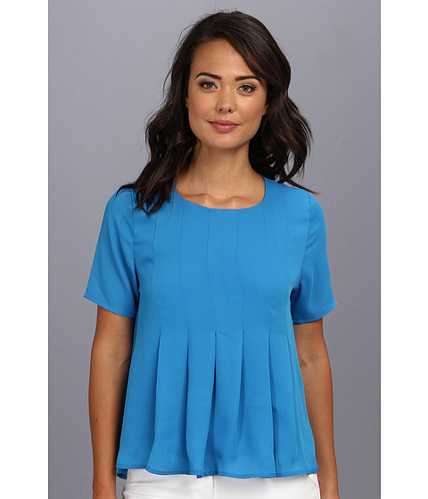 Bluze Brigitte Bailey - Soft Pleats Top - Royal