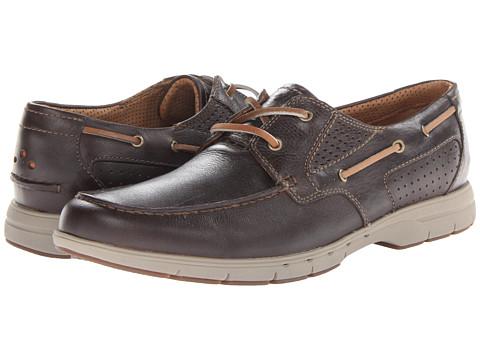 Pantofi Clarks - Unnautical Sea - Dark Brown