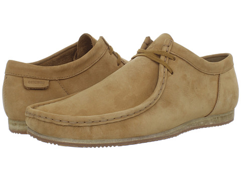 Pantofi Clarks - Wallabee Run - Tan Nubuck