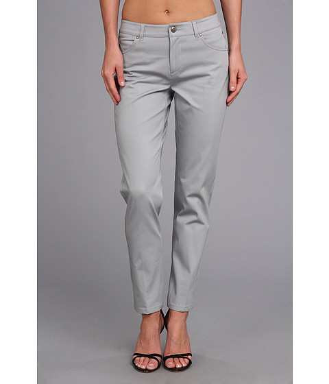 Pantaloni Christin Michaels - Cropped Taylor - Pearl Grey