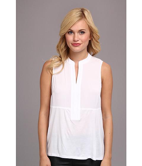 Bluze kensie - Soft Crepe Top KS5K4135 - White