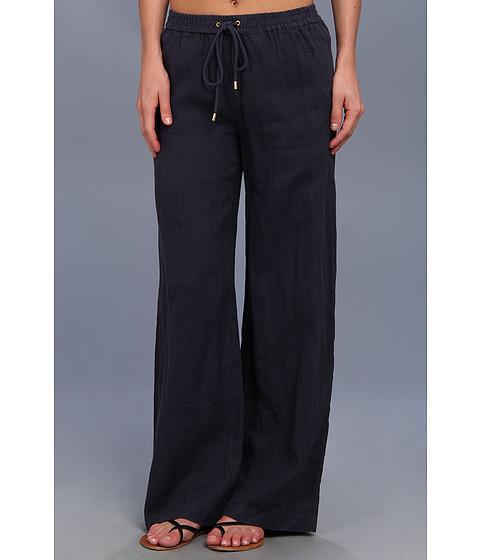 Pantaloni MICHAEL Michael Kors - Linen Wide Leg Pant - Washed Indigo