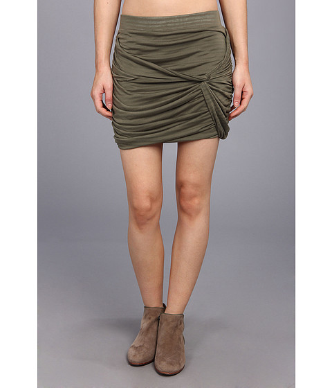 Fuste Free People - Twistful Mini Skirt - Army