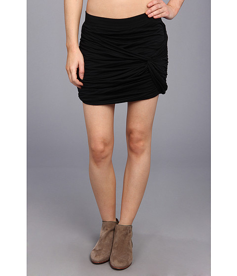 Fuste Free People - Twistful Mini Skirt - Black
