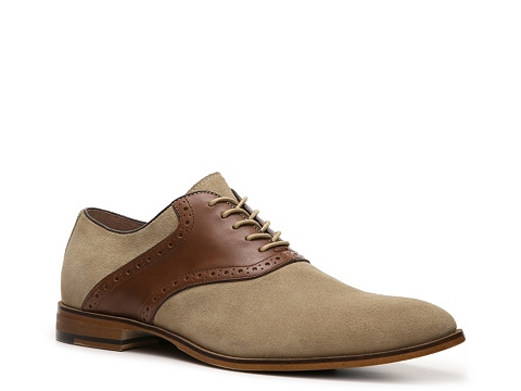 Pantofi Aston Grey - Tillman Oxford - Beige/Brown