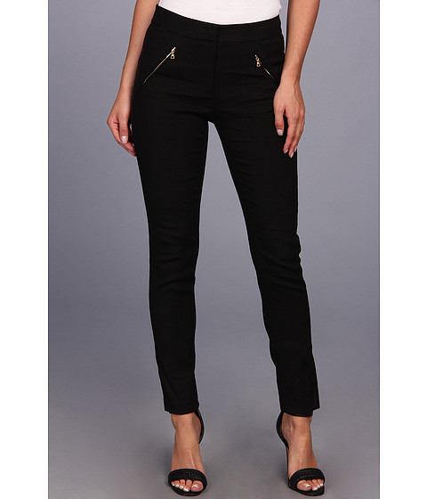 Pantaloni Rebecca Taylor - Zip Pocket Pant - Black