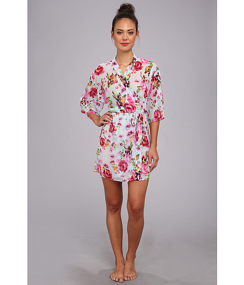 Lenjerie Betsey Johnson - Short Robe Knit Chiffon - Spread Your Wings