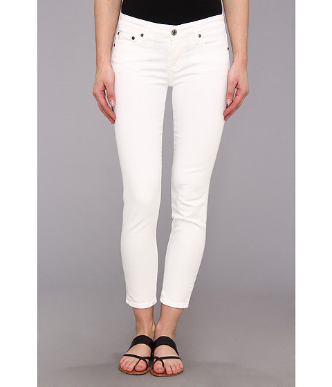 Blugi Big Star - Alex Mid Rise Skinny Crop Jean in White - White