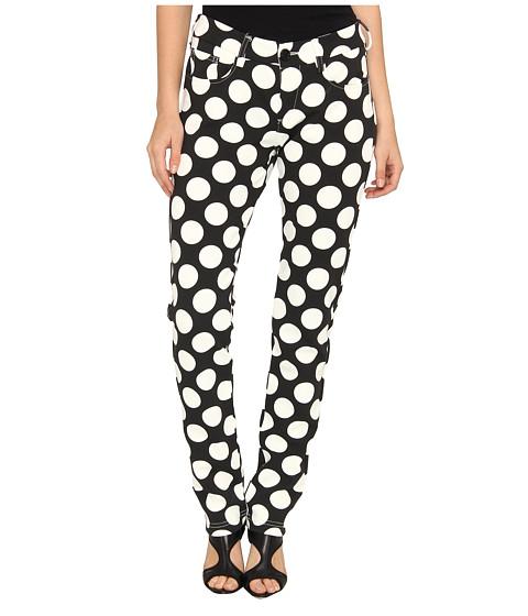Pantaloni LOVE Moschino - Polkadot Pants - Black/White