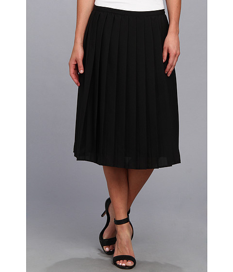Fuste Calvin Klein - Pleated Short Skirt - Black