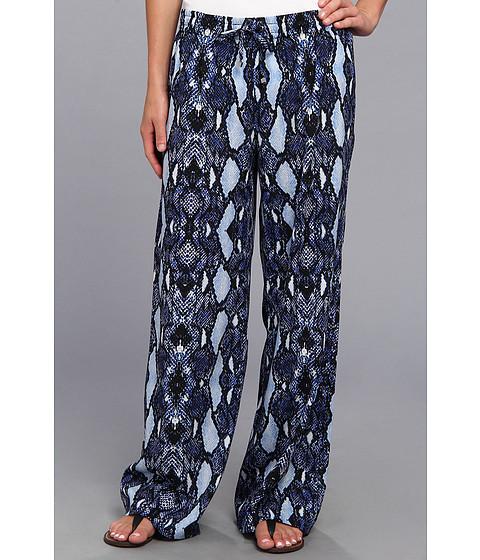 Pantaloni Calvin Klein - Printed Drawstring Pant - Wave/Black
