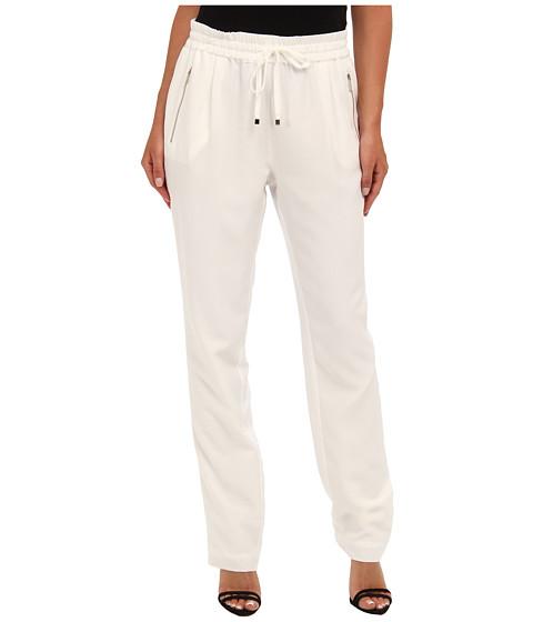 Pantaloni Calvin Klein - Solid Drawstring Pant - White