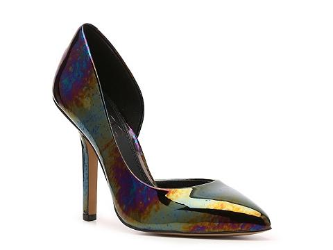 Pantofi BCBG Paris - Jaze Metallic dOrsay Pump - Multi-metallic