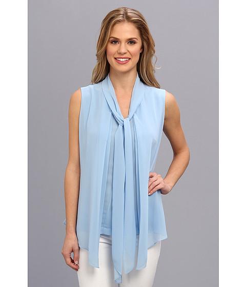 Bluze Calvin Klein - Sleeveless Blouse - Iceburg