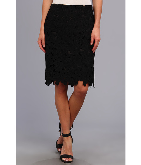 Fuste Calvin Klein - Embroidered Skirt - Black