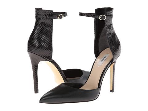 Pantofi GUESS - Abaih 2 - Black Leather