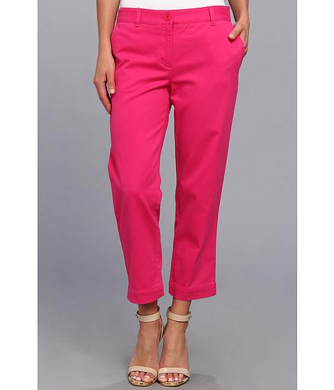 Pantaloni Jones New York - Cropped Easy Pant - Fuchsia