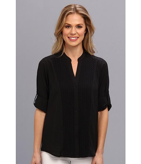 Bluze Calvin Klein - L/S Top w/ Shoulder Detail - Black