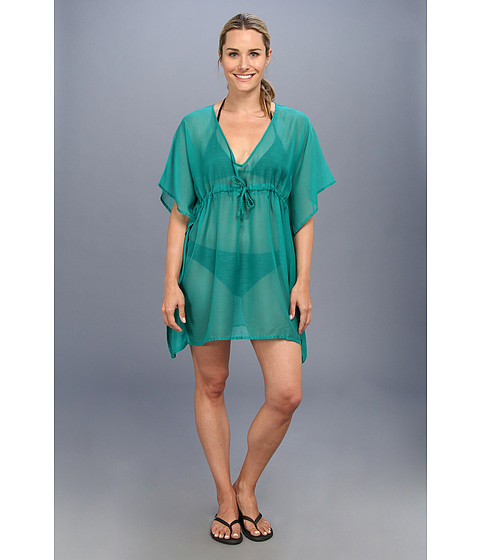 Costume de baie Echo Design - Solid Butterfly Cover-Up w/ Braided Ties - New Jade