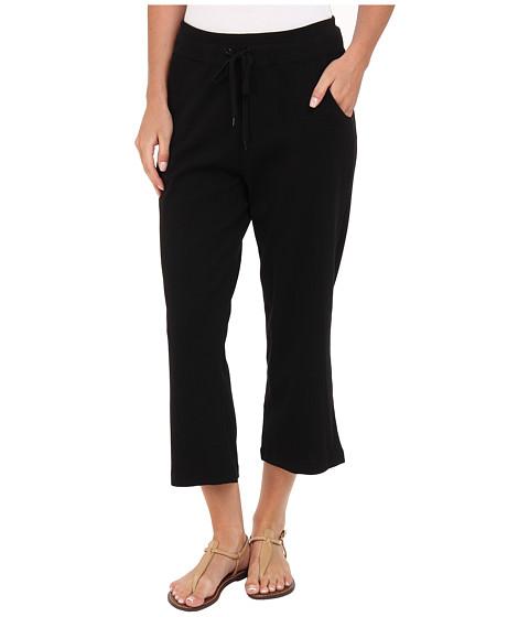 Pantaloni Jones New York - Capri Pant w/ Rib - Black