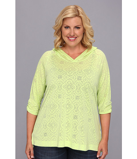 """Bluze Columbia - Plus Size See Through Youâ""""¢ Burnout Hoodie - Tippet Floral"""