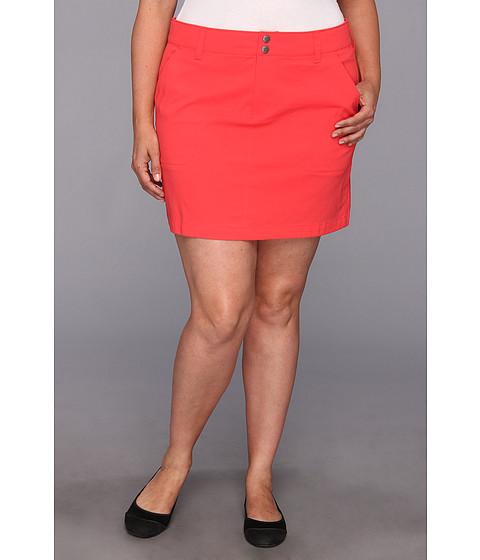 """Fuste Columbia - Plus Size Saturday Trailâ""""¢ Skirt - Red Hibiscus"""