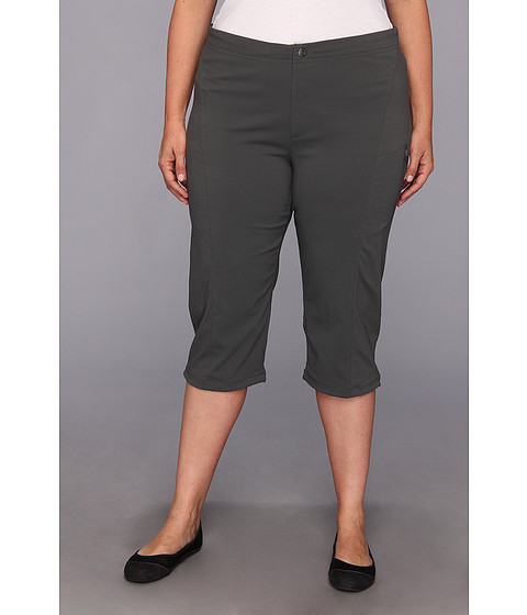 "Pantaloni Columbia - Plus Size Just Rightâ""¢ II Capri - Grill"