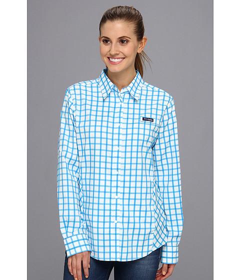 "Camasi Columbia - Super Tamiamiâ""¢ L/S Shirt - Hyper Blue Box Plaid"