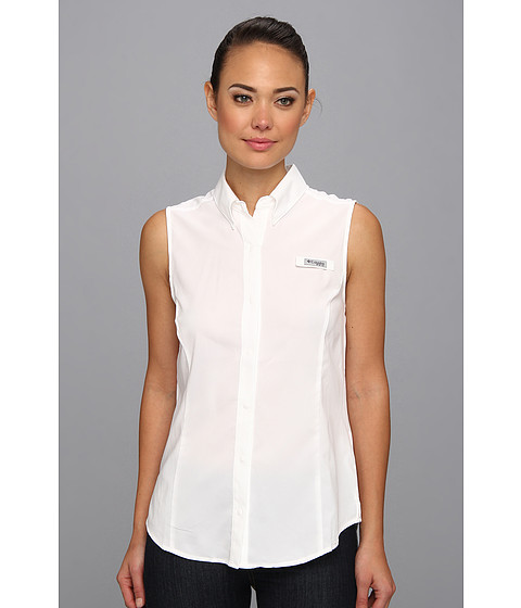 "Camasi Columbia - Tamiamiâ""¢ Sleeveless Shirt - White"