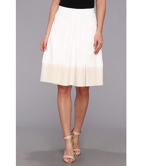Fuste Rebecca Taylor - Poplin Skirt - White