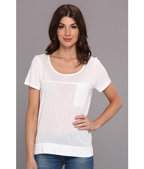 Bluze Splendid - Always Shirting Tee - White