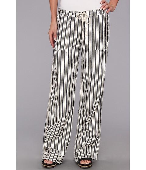 Pantaloni Michael Stars - Stripe Linen Drawstring Pant - Ship