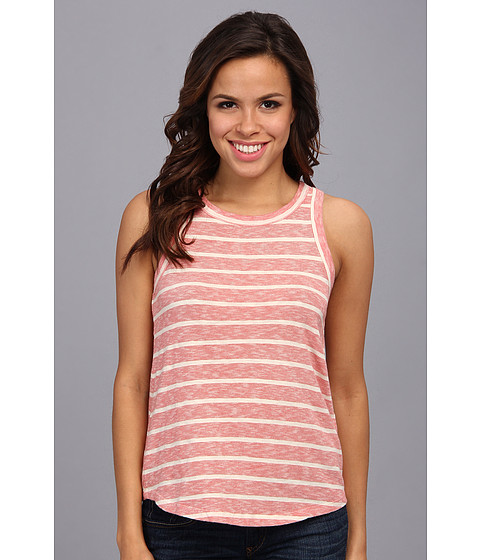 Bluze Lucky Brand - Keyhole Stripe Tank - Red Multi