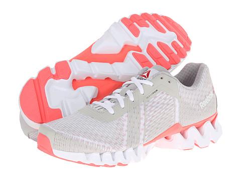 Adidasi Reebok - Zigtech 3.0 Energy - White/Steel/Punch Pink/Gravel