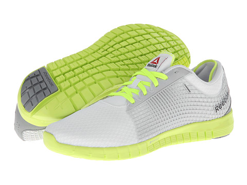 Adidasi Reebok - Z Quick - White/Flat Grey/Neon Yellow