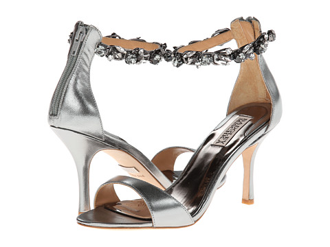 Pantofi Badgley Mischka - Klark - Anthracite Leather