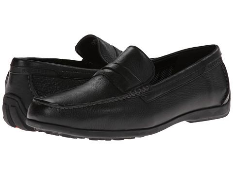 Pantofi Rockport - Total Motion Penny Moc - Black