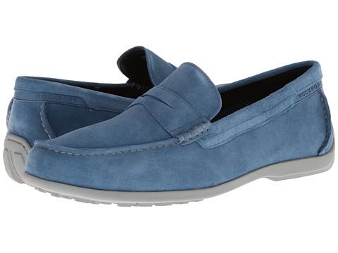 Pantofi Rockport - Total Motion Penny Moc - Teal