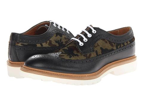 Pantofi DSQUARED2 - Tudor Laced Up Oxford - Black