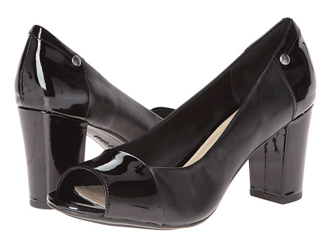 Pantofi Hush Puppies - Sisany Peep Toe - Black