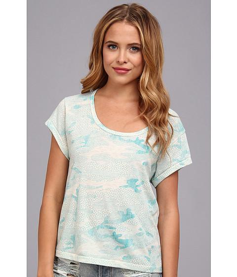 Bluze Alternative Apparel - Dreamer Tee - Sea Breeze Texture Camo