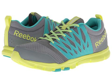 Adidasi Reebok - Yourflex Trainette 5.0 MT - Flat Grey/Timeless Teal/High Vis Green
