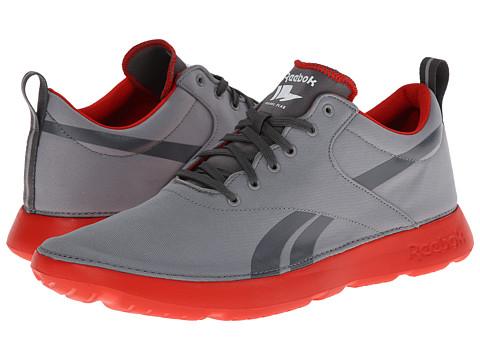 Adidasi Reebok - Royal Simple - Flat Grey/Rivet Grey/China Red